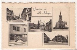 Groeten Uit  DE KLINGE  VIJFLUIK  ONGELOPEN  1042  /d 6 - Sint-Gillis-Waas