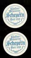 Sotto-boccale O Sottobicchiere - Scheyecn  - Birra - Beer Mats - Sousbocks - Bierdeckel - Coaster - Posavasos - Deckel - Sotto-boccale