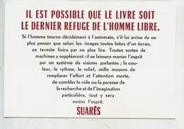"""André Suares 1868/1948 Poète Et écrivain """"Il Est Possible Que Le Livre Soir Le Dernier Refuge D'un Homme Libre"""" - Ecrivains"""