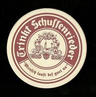 Sotto-boccale O Sottobicchiere - Schullenrieder   - Birra - Beer Mats - Sousbocks - Bierdeckel - Coaster - Posavasos - Sotto-boccale