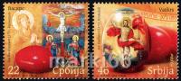 Serbia - 2010 - Easter - Mint Stamp Set - Serbie
