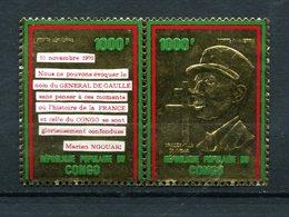 Thème Général De Gaulle - Congo Yvert 135 & 136 - Neuf Xxx - De Gaulle (Général)