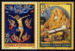 Serbia & Montenegro - 2004 - Easter - Mint Stamp Set - Serbie