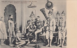 Ram (Vishnu) , Wife , 3 Brothers , & Devotees , India , 00-10s - Inde