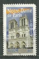 FRANCE Oblitéré 3705 Notre Dame De Paris - Francia