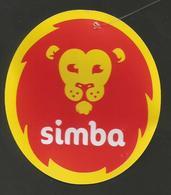 # PINEAPPLE SIMBA SIZE 5 Fruit Tag Balise Etiqueta Anhanger Ananas Pina Costa Rica - Fruit En Groenten