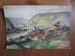 Panorama Von Bingen Und Bingerbruck Mit Elisenhohe.... Bremer & Co 5353 - Bingen