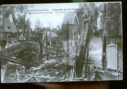 BRUXELLES     EXPOSITION ET INCENDIE                  1910                ( Pas De Virement De Banque ) - Expositions Universelles