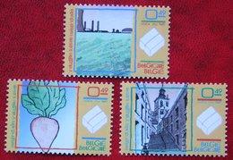 Suikerindustrie Industrie Sucrière à Tienen OBC 3246-3248 (Mi 3295-3297) 2004 POSTFRIS MNH ** BELGIE BELGIEN / BELGIUM - Belgien