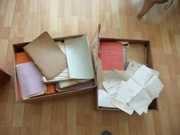 Archive Presque 30 Kg Roucher/L'Ecuyer De Villers/Blondel Sarthre Sougé Descendance Poète Montpellier A.Roucher - Manuscrits
