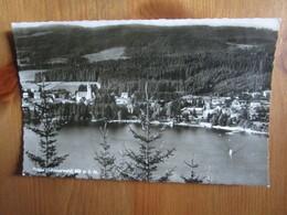 Titisee Schwarzwald - Franz Nachf 81/40 Postmarked 1957 - Titisee-Neustadt