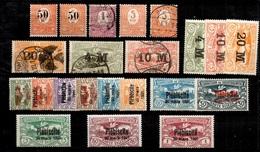 Haute-Silésie Belle Collection Neufs * Et Oblitérés 1920/1922. Bonnes Valeurs. B/TB. A Saisir! - Silésie (Haute & Orientale)