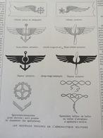 1912 LES NOUVEAUX INSIGNES DES AVIATEURS ET AERONAUTES MILITAIRES - Newspapers