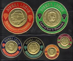BF23A - SIERRA LEONE 1966 , Indipendenza Serie Monete N. 305/310  *** - Sierra Leone (1961-...)