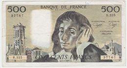 France P 156 E - 500 Francs 3.4.1985 - Fine+ - 1962-1997 ''Francs''