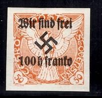 Allemagne/Sudètes/Sudetenland Michel N° 22 Neuf *. Plusieurs Signatures. B/TB. A Saisir! - Occupation 1938-45