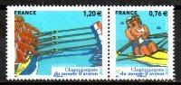 FRANCE   N°   * *  ( 2 Valeurs )    Aviron - Rudersport