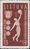 USED  STAMPS Lithuania - European Basketball Championship - Kaunas- 1939 - Lithuania
