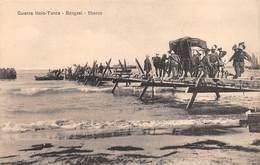 """09062 """"LIBIA - GUERRA ITALO-TURCA - BENGASI - SBARCO - 1911"""" CART NON SPED - Libia"""