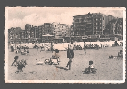 De Panne - Strand (midden) - Zeer Geanimeerd - De Panne