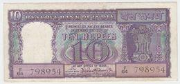 India P 57 A - 10 Rupees 1962 1967 - Fine+ - India