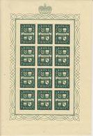 Liechtenstein 1939 Definitives / Arms 2v Sheetlets ** Mnh  (F7698) - Liechtenstein
