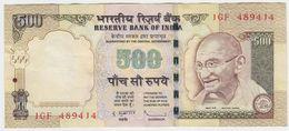 India P 99 D - 500 Rupees 2009 - VF - Inde