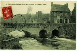 PLOUGUENAST-le-PONTGAMP. - Le Pont Sur Le Lié,route De Loudéac - France