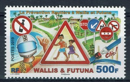 Wallis And Futuna, Road Traffic Safety, 2019, MNH VF - Wallis And Futuna