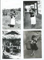 Indochine 4 Photos 14 X 9 Cm Annam Environs De Dalat Du RPG Dethune,CM. TB  Religion Catholique 2 Scans - Luoghi