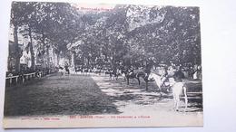 Carte Postale ( O9 ) Ancienne De Soréze , Un Carrousel A L école - France