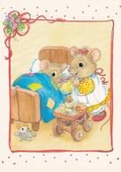 Mouse Gives Medicine - Get Well Soon - Souris - Muis - Maus - Topo - Rato - Ratón - Marja-Liisa Pitkäranta - Animaux & Faune