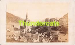 CDV PHOTO FOTO +/- 1860-70  VUE DE BACHARACH ET DU RHIN - Fotos