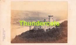 CDV PHOTO FOTO +/- 1860-70  AD BRAUN DORNACH STOLZENFELS COBLENZ KOBLENZ - Fotos