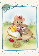Mouse  Is Feeding The Bird - Souris - Muis - Maus - Topo - Rato - Ratón - Marja-Liisa Pitkäranta - Animaux & Faune