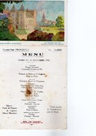 Menu Cherry Rocher Liqueur Messageries Maritimes - Menus