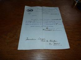 FF6  Document Commercial Facture  S.A. Agglomérés Chimiques Pour Le Blanchiment Du Linge 1899 - Belgique