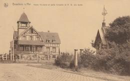 Breedene Sur Mer , Bredene , Home Vaxelaire Et Petite Chapelle De N D Des Dunes - Bredene