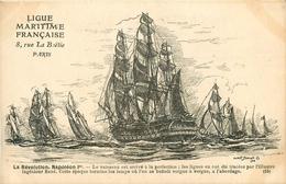 LA MARINE FRANCAISE - LA REVOLUTION - NAPOLEON 1° - NAVIRE - VOILIERS - Bateaux