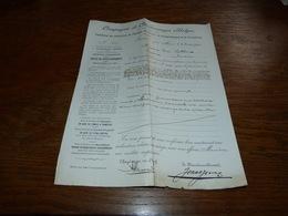 FF6  Document Commercial Facture  S.A. Agglomérés Du Bassin De Charleroi Marcinelle 1903 C Mahieu - Belgique