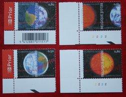 Klimatologie OBC N° 3278-3281 (Mi 3327-3330) 2004 POSTFRIS MNH ** BELGIE BELGIEN / BELGIUM - Belgien