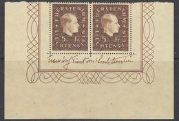 Liechtenstein 1939 Definitive / Fürst Franz Josef II  1v (pair)  ** Mnh (42180A) - Liechtenstein
