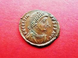 GRATIANUS (367-383) AE Bronze 378-83 Antiochia Mint VIRTUS - 8. Der Spätrömanischen Reich (363 / 476)