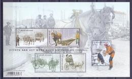 Belgie - 2019 - OBP - ** Dieren Aan Het Werk - A. Buzin ** - Unused Stamps