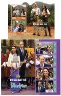 Ghana 3769/72 & Bf 569 Prince William And Kate - Koniklijke Families
