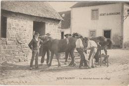 CPA 56  PONT SCORFF LE MARECHAL FERRAND DU VILLAGE - Pont Scorff