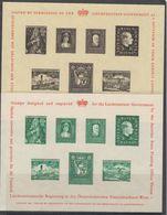 Liechtenstein 1961 London 1961 Exhibit Souvenir Sheets Unused (42183) - Liechtenstein