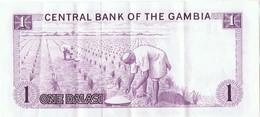 GAMBIE - Billet De 1 Dalasi - Gambia