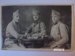 3 Soldats - 313ème R.I Et 46ème R.A - Uniformes