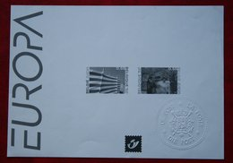 Zwart Wit Vel Europa OBC N° 3291-3292 (Mi 3340-3341) 2004 POSTFRIS MNH ** BELGIE BELGIEN / BELGIUM - Feuillets Noir & Blanc